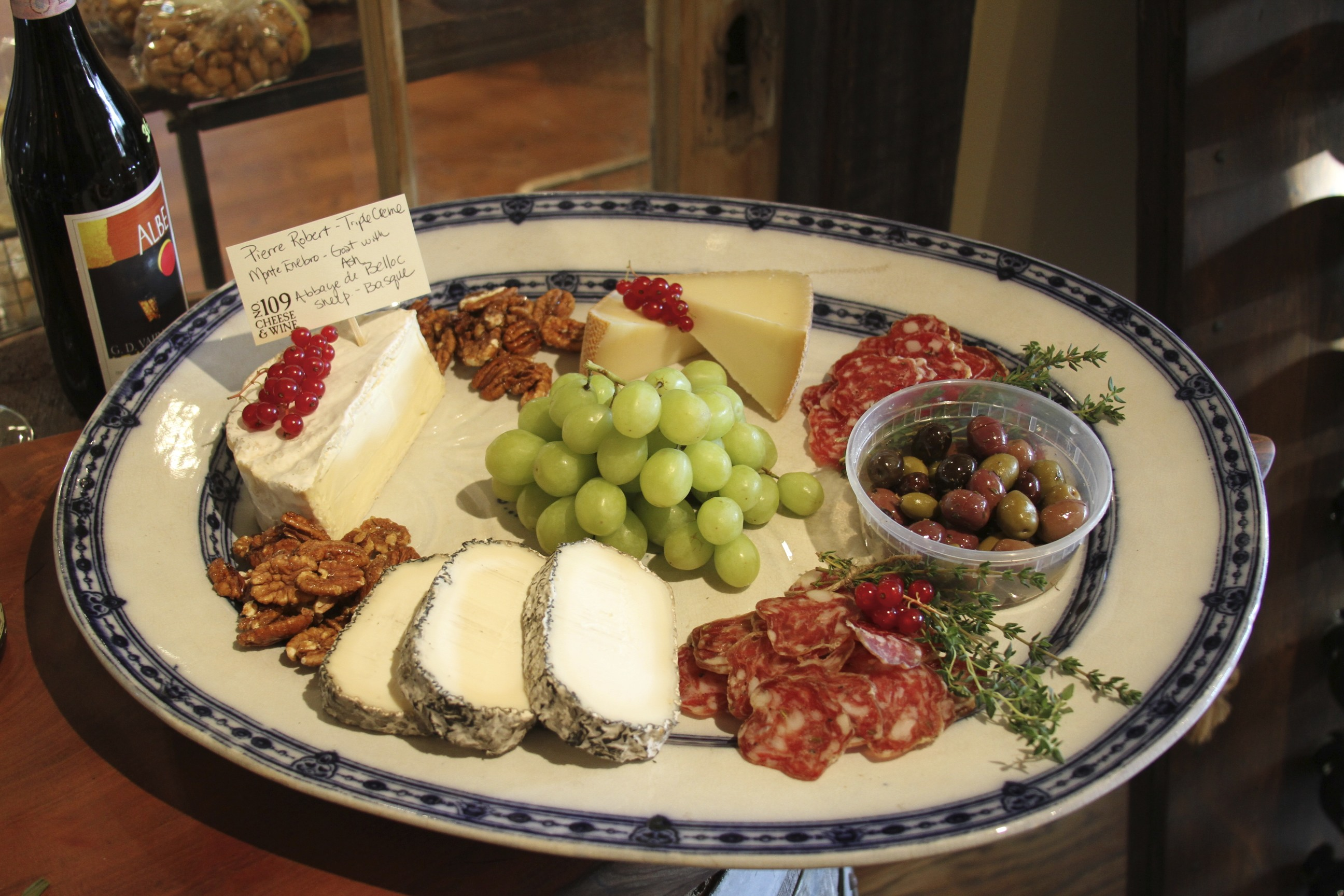 Or ... & Super Bowl XLII Platters and Appetizers u2013 109 Cheese u0026 Wine